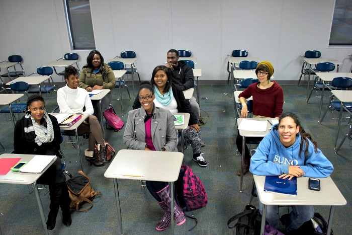 English 363 class at Southern University New Orleans