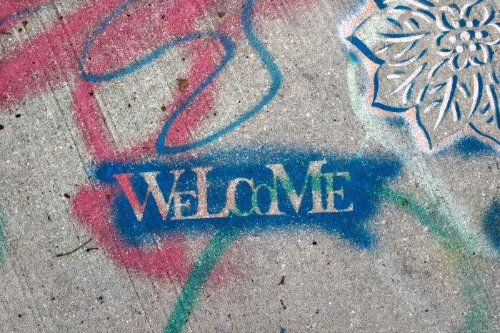 """Welcome"" is the opposite of how I felt while being peeped upon."